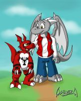 my guilmon by soul-silver-dragon