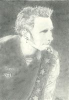 Mike Dirnt by xxally7xx