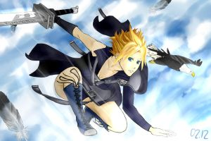 Cloud(ia?) Strife by Rivalhopeso