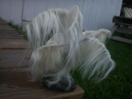 White Weeping Willow by Woolyfeltcreations