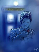 11th Doctor by ChikKV