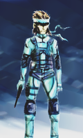 Solid Snake by Verdot