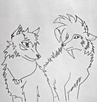 Cion and Kira by FillyDrawSilly