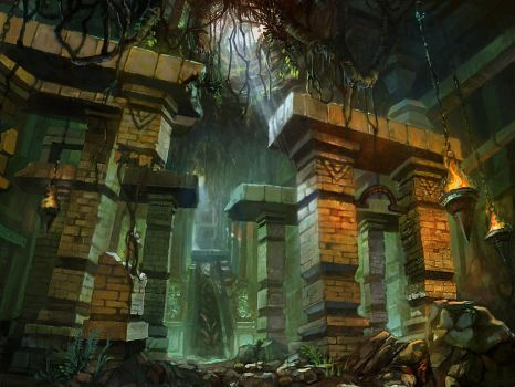 dungeon by tiemao