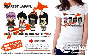 Dearest Japan T-shirt by cosplayts