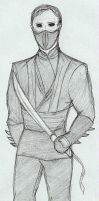Batman Begins Ra's al Ghul Sketch by NOTEBLUE13
