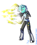 Canterlot Siege: Lyra by TheYoungReaper