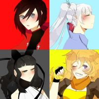 rwby by Lady-Was-Taken