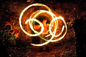 Ella Fire Poi 1 by AlanSmithers