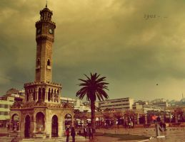 IzmiR cLock toweR by caNs462