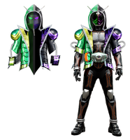 Kamen Rider Ghost - Double Damashi by tuanenam