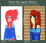 Before and After Meme by TacWithAPencil