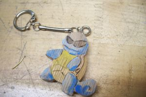 Cool Squirtle Squad Keychain by MagicalMegumi