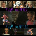 TRA Fun Outfits by XTombRaiderxx