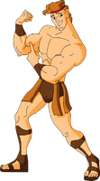 Shirtless Muscular Hercules by hercules4disney
