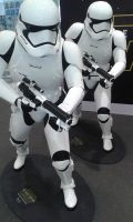 Life size First Order Stormtroopers 2 by thereanimatedunknown