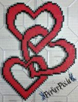 Chain of Hearts by PerlerPixie