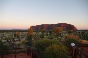 Uluru sunrise II by friedapi