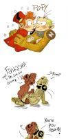 Spirou et Fantasio summthing by MariChan27