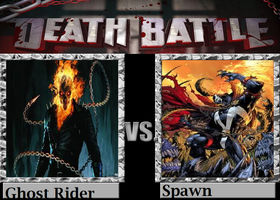 Ghost Rider vs Spawn by TheWickedAvatar1