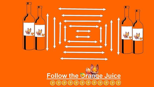 Follow The Orange Juice by Faozs