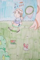 Myself in Anime Crossing New Leaf by Punisher2006