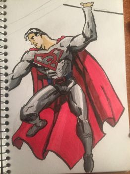 Red Son Superman  by BasementLord