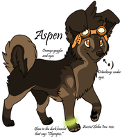 Fursona- Aspen by AspenPuppy