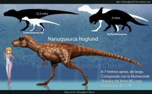 Nanuqsaurus hoglundi by Christopher252