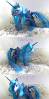 Princess Luna G3 Custom for MLP Arena Newbie Swap by StrawberryMeadow