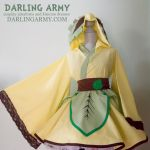 Leafeon Pokemon Gijinka Cosplay Kimono Dress by DarlingArmy