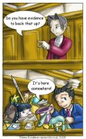 Phoenix Wright: Evidence by o0NeonCola0o