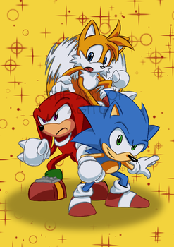 Sonic Mania by Star-Rocket