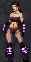 Jet Dancer by hulkdaddyg