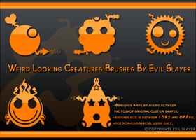 Weird Looking Creatures by Evil-Slayer