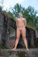 Wife nude at old fort by Grister