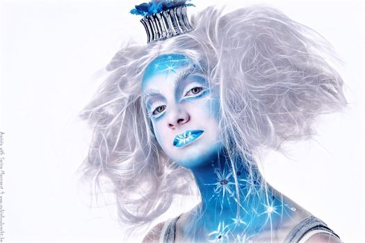 Circus Ice Queen by SylvieHughiBertha