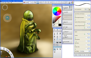 AutoDesk SketchBook Pro 2011 by jinkies36