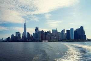 Manhattan view by AshiMonster