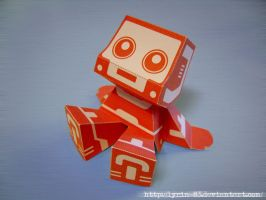 A.I. - Papercraft by Lyrin-83