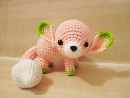 Amigurumi Lili the Fennec Fox by SNCxCreations