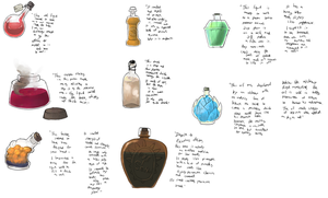 Potions by umbbe