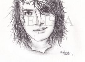Gerard Way by melissaGC