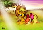 Little Ponies on the Prairie by NeonCabaret