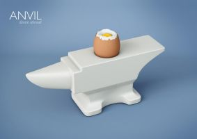 Anvil Egg Cup by ufimcef