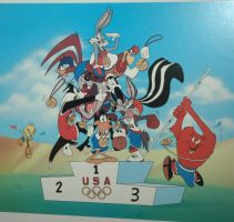 Looney Tunes Olympic Games by trendylina1994