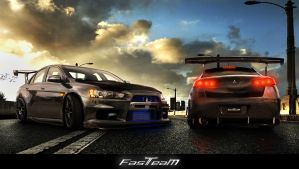 Fast Team Work- Evo X FQ 400s by mustaF4ST