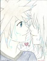 SoRiku: Dye Me In Your Color by smilinglightly