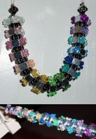 hex nut beads by RaheHeul