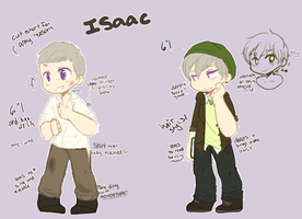 Isaac Concept Scribbles by Lucid-Truth